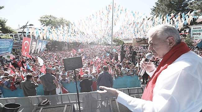 Çankırı son başbakanı misafir etti