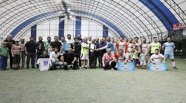 Halı saha futbol turnuvası sona erdi
