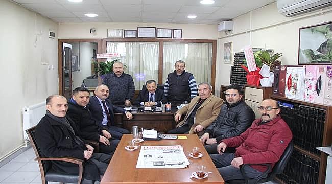 MHP'den kutlama ziyareti