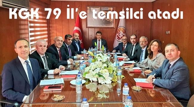 KGK 79 İl'e temsilci atadı
