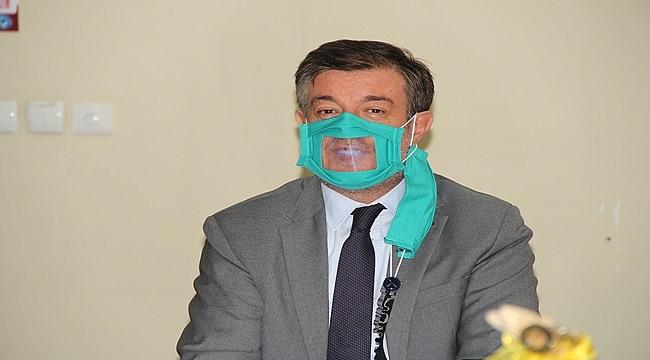 Engelliler özel maskelerine kavuştu