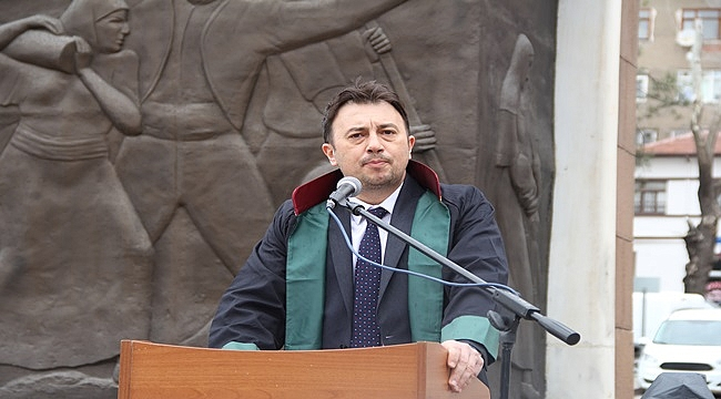 """""""5 Nisan Avukatlar Günü"""" törenle kutlandı"""