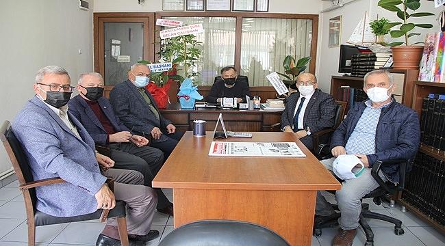 MHP heyeti gazetemizi ziyaret etti