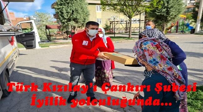 Türk Kızılay'ı Çankırı Şubesi İyilik yolculuğunda…