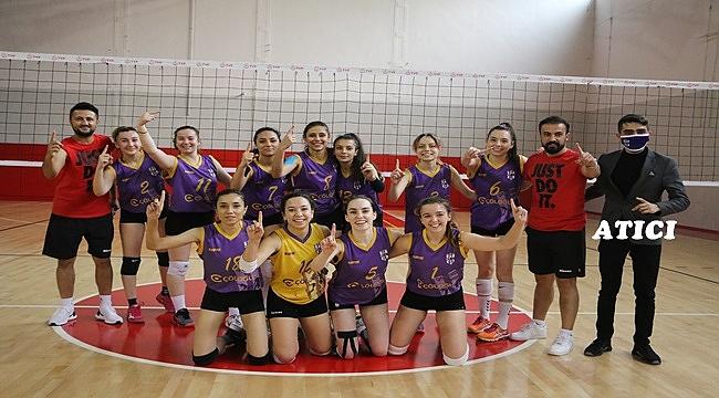 Bölgesel Lig Voleybol Kadınlar Final Grubuna   KA-TI-LA-MI-YO-RUZ!..