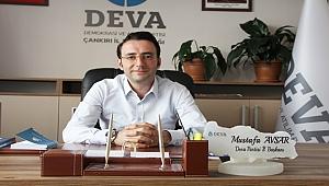 Avşar'dan gazetemize özel açıklama