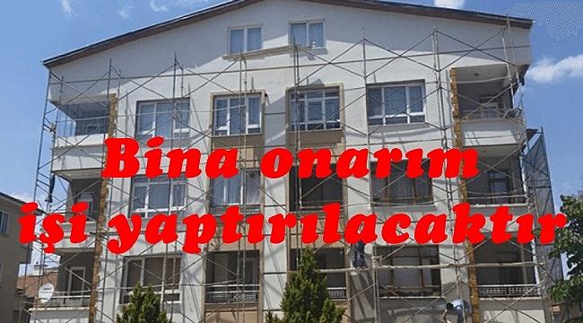 Bina onarım işi yaptırılacaktır
