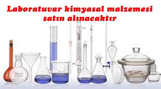 Laboratuvar kimyasal malzemesi satın alınacaktır