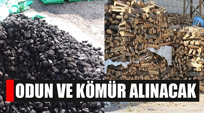 Yakacak (odun-kömür) satın alınacak