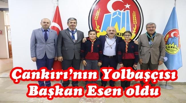 Çankırı'nın Yolbaşçısı  Başkan Esen oldu