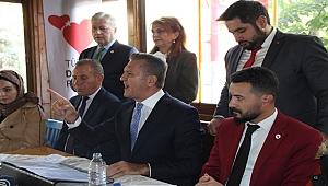 Sarıgül Çankırı'dan Ak Parti'ye yüklendi